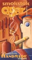 Smokstak Cigar Faktori Fine Art Print