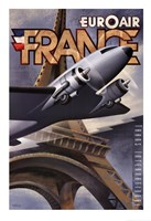 Euroair France Fine Art Print