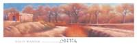 Isleta Cottonwoods Fine Art Print
