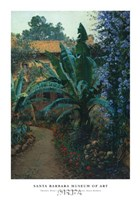 Garden of the Potter Hotel Fine Art Print