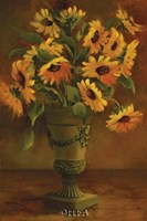 Mediterranean Sunflowers I Fine Art Print