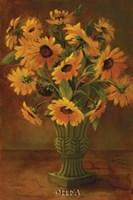 Mediterranean Sunflowers II Fine Art Print
