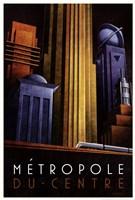Metropole du Centre Framed Print