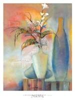 Floral Fantasy I Framed Print