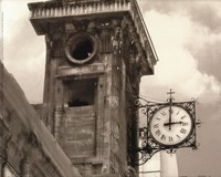 Clock Tower Fine Art Print
