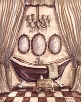 Charming Bathroom I Fine Art Print