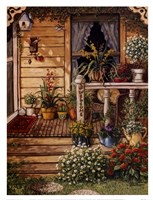 Summer Front Porch Framed Print