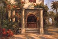 Augustine's Courtyard Fine Art Print