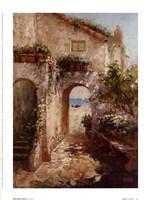 Bernazza Arch Fine Art Print