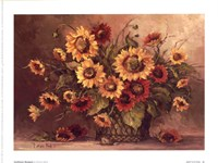 Sunflower Bouquet Fine Art Print