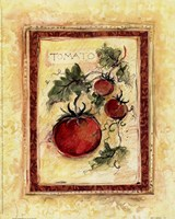 Tuscan Garden I Framed Print