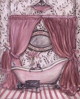 Fanciful Bathroom II Fine Art Print