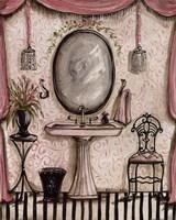 Fanciful Bathroom IV Fine Art Print