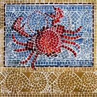Mosaic Crab Fine Art Print