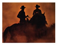Knight Riders Fine Art Print