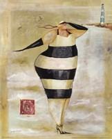 Baigneur de Soleil IV Framed Print