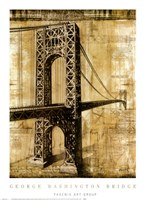George Washington Bridge Fine Art Print