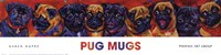 Pug Mugs Framed Print