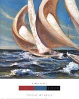 Yacht Club Four Framed Print