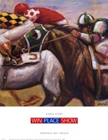 Win Place Show Fine Art Print