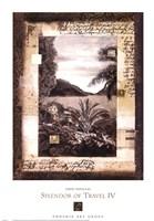 Splendor of Travel IV Framed Print