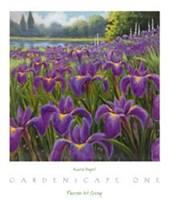 Gardenscape One Framed Print