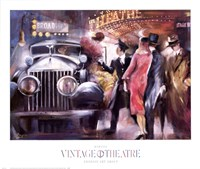 Vintage Theatre I Fine Art Print