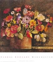 Floral Brocade Fine Art Print