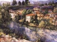 Village on the Arno Fine Art Print