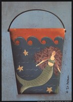 Mermaid Bucket Fine Art Print