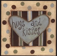 Hugs & Kisses Fine Art Print