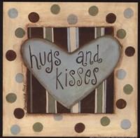 Hugs & Kisses Framed Print