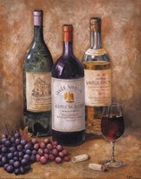 Wine And Fruit Fine Art Print