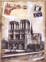My Paris Souvenir II Framed Print