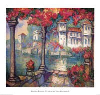 View From The Villa Splendida II Fine Art Print