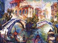 Venice Canal Fine Art Print