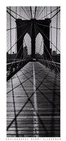 Across the Brooklyn Bridge Framed Print