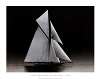 Yacht Reliance at Full Sail, 1903 Fine Art Print