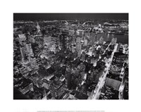 Empire State Building, East View Fine Art Print