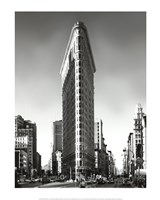 New York, New York, Flatiron Building Framed Print