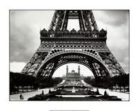 La Tour Eiffel Et Le Vieux Trocadero Fine Art Print