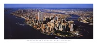Aerial View of Manhattan Fine Art Print