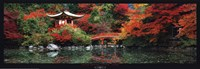 Daigo Shrine, Kyoto, Japan Framed Print