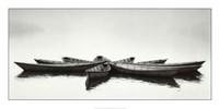 Zen Boats Fine Art Print