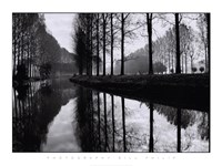 Canal, Normandy Fine Art Print