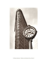 Fifth Avenue Clock Fine Art Print