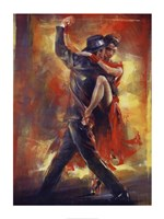 Tango Argentino Framed Print