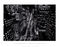Park Avenue at Night, NYC Framed Print
