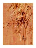 Bamboo Leaves II Fine Art Print