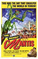 Deadly Mantis Wall Poster
